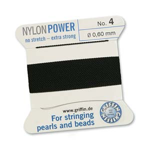 Griffin Nylon Black 2 meter card size 4