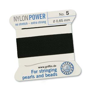 Griffin Nylon Black 2 meter card size 5