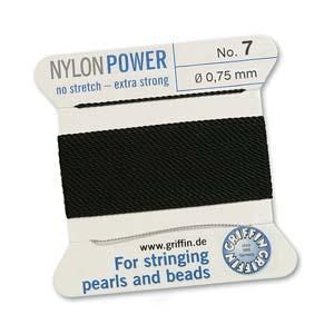 Griffin Nylon Black 2 meter card size 7