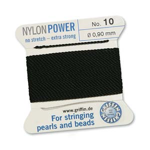Griffin Nylon Black 2 meter card size 10
