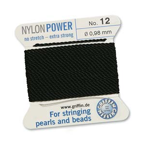 Griffin Nylon Black 2 meter card size 12