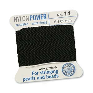 Griffin Nylon Black 2 meter card size 14
