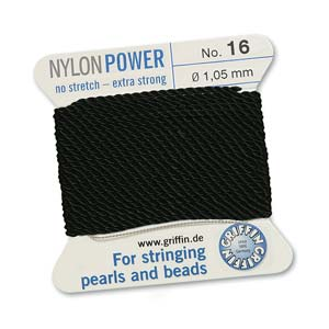 Griffin Nylon Black 2 meter card size 16
