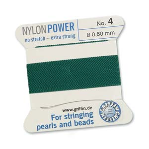 Griffin Nylon Green 2 meter card size 4