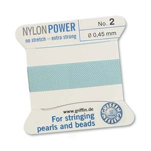Griffin Nylon Turquoise 2 meter card size 2