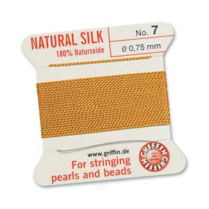 Griffin Silk Amber 2 meter card size 7