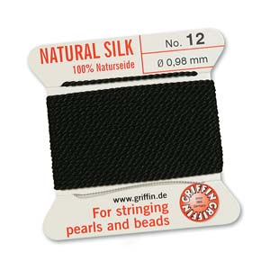 Griffin Silk Black 2 meter card size 12