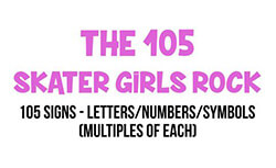 Yard Card Letters & Numbers Sets