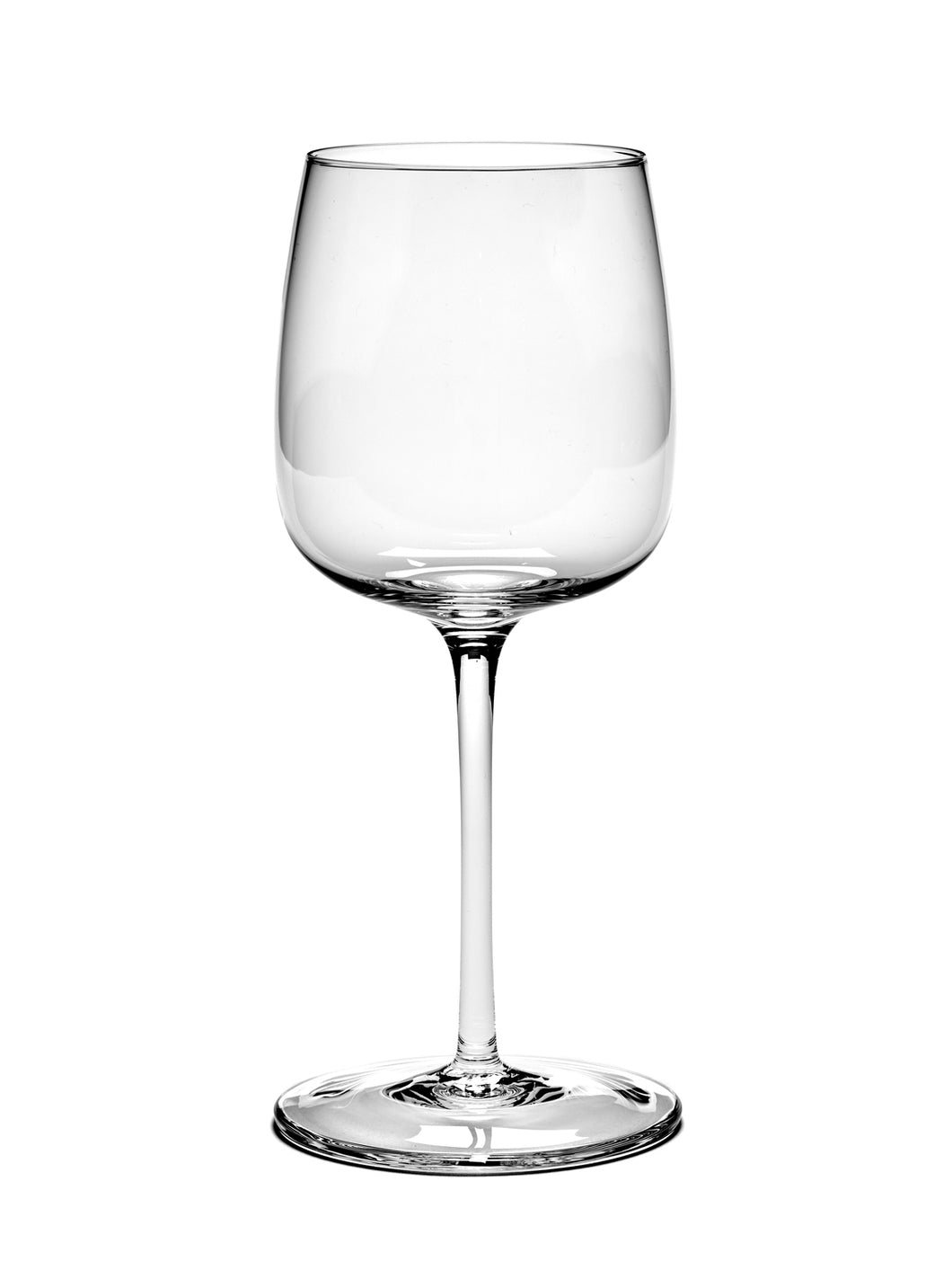 Passe partout White wine glass curved