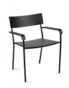 AUGUST Chair with armrest W:60