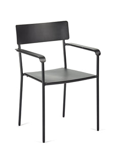 AUGUST Chair with armrest W:49