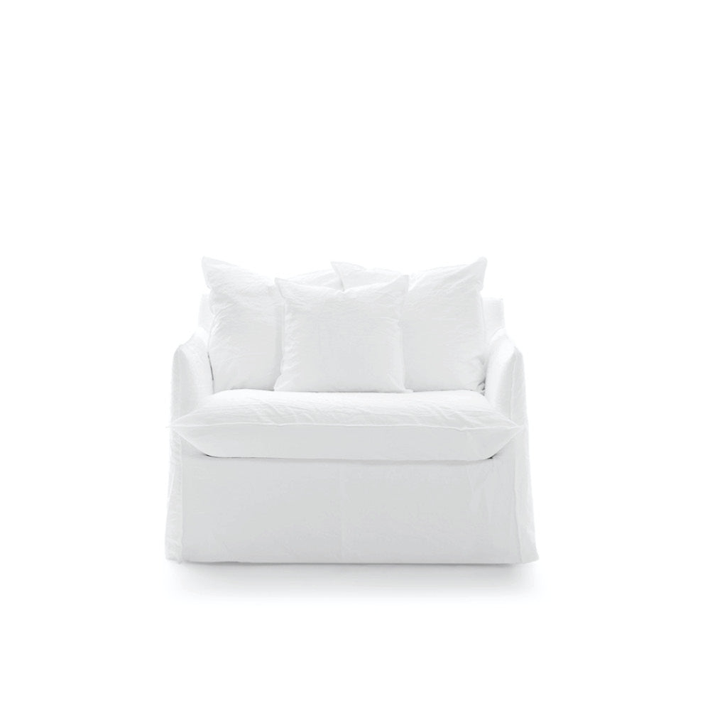 GHOST 09 loveseat -10%+extra white cover