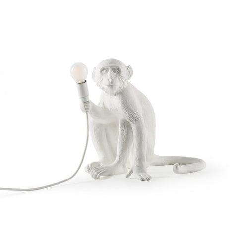 Seletti Monkey Lamp Sitting Version