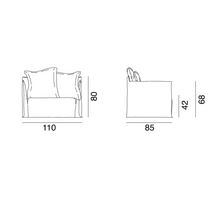 Load image into Gallery viewer, GHOST 09 loveseat -10%+extra white cover