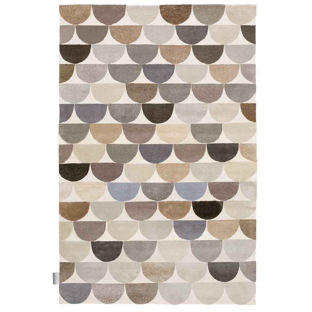 Lapp Hand Knotted Platinum Rug