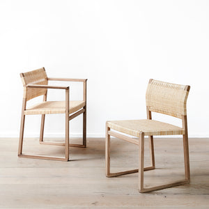 BM 62 Armchair Cane Wicker