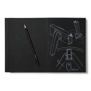 Cinqpoints Black sketchbook