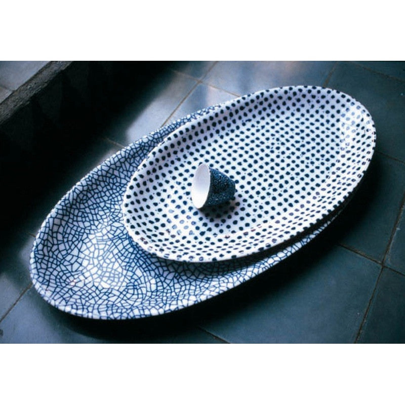 Driade oval serving plate