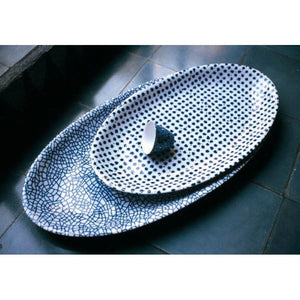 Driade mega oval serving plate