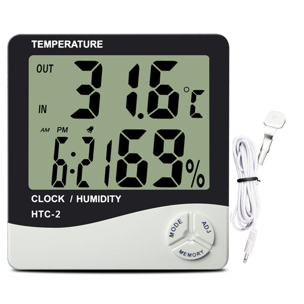 Large Display Thermo hygrometer (0823)