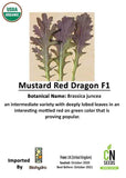 Mustard Red Dragon F1
