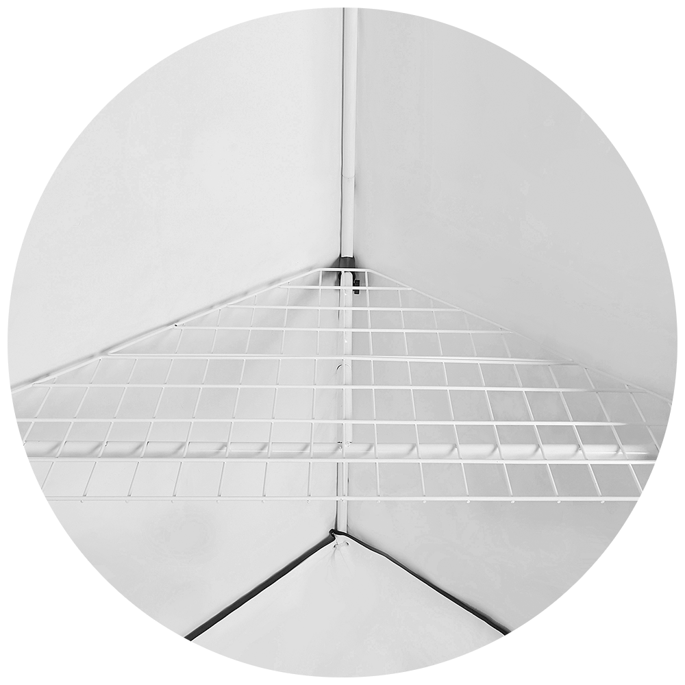 Homebox Shelf Vista Triangle (0953)