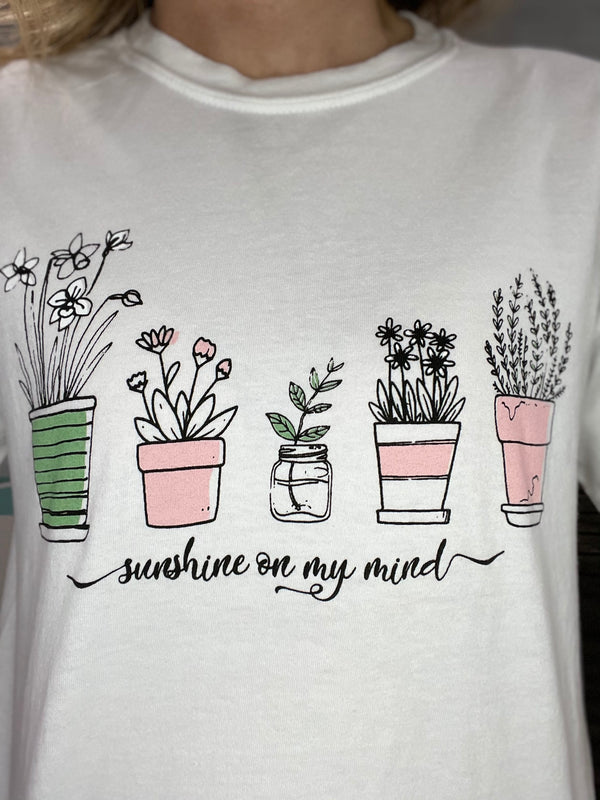 Sunshine on my Mind Graphic Tee