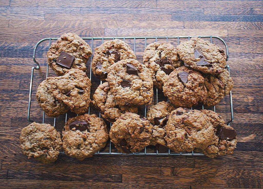 Forget the muesli power bars guys. Oat cookies are the way to go!