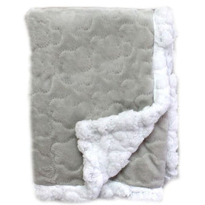 grey sherpa baby blanket in windsor ontario