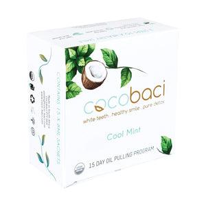 Fitness & Wellness Cocobaci Cool Mint 15 Day Oil Pulling Program