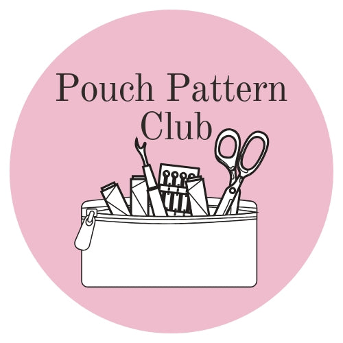 Pouch Pattern Club 6 pouch sewing patterns for 6 months!