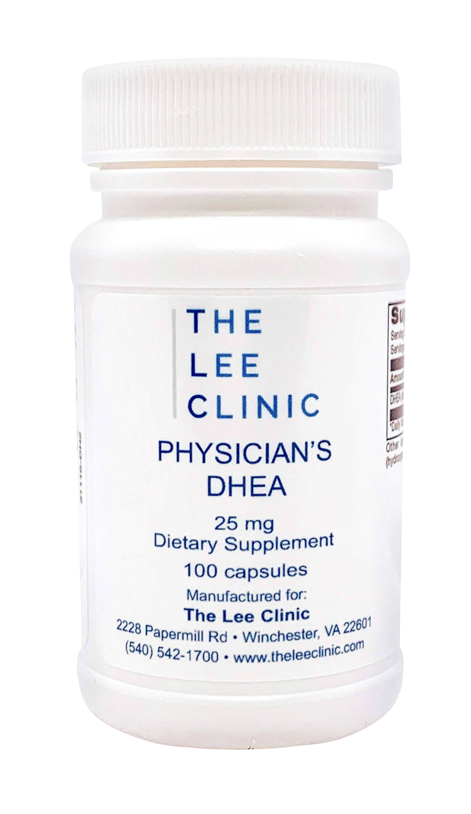 TLC Physician's DHEA 25mg