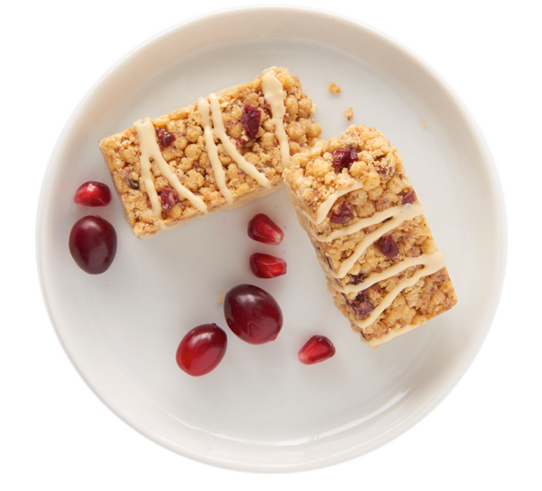 IP Cranberry and Pomegranate Protein Bar (R)
