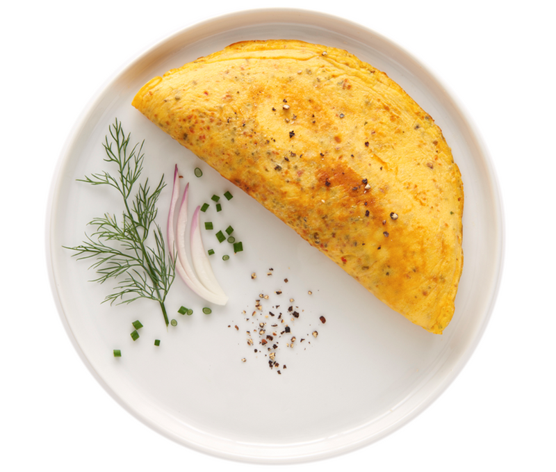 IP Herb and Cheese Omelet
