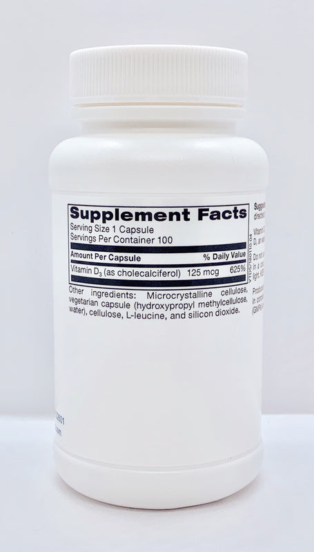 TLC  Physician's Vitamin D3 (5000 I.U.)