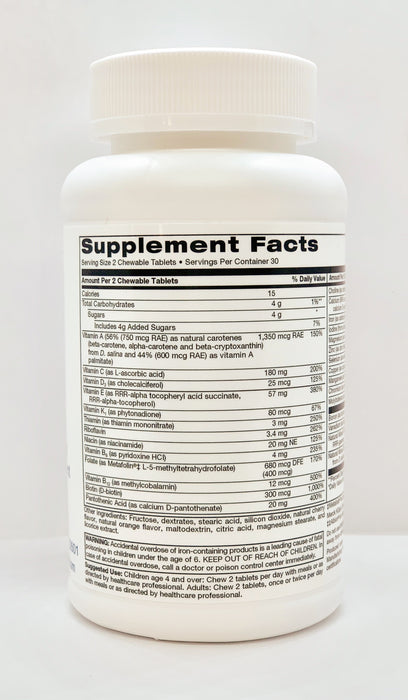 TLC Physician's Multivitamin (chewable)
