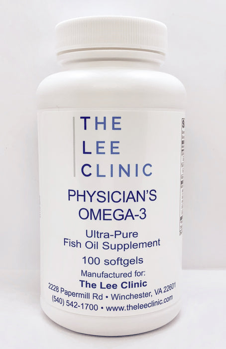 Physician's Omega 3 Soft Gels