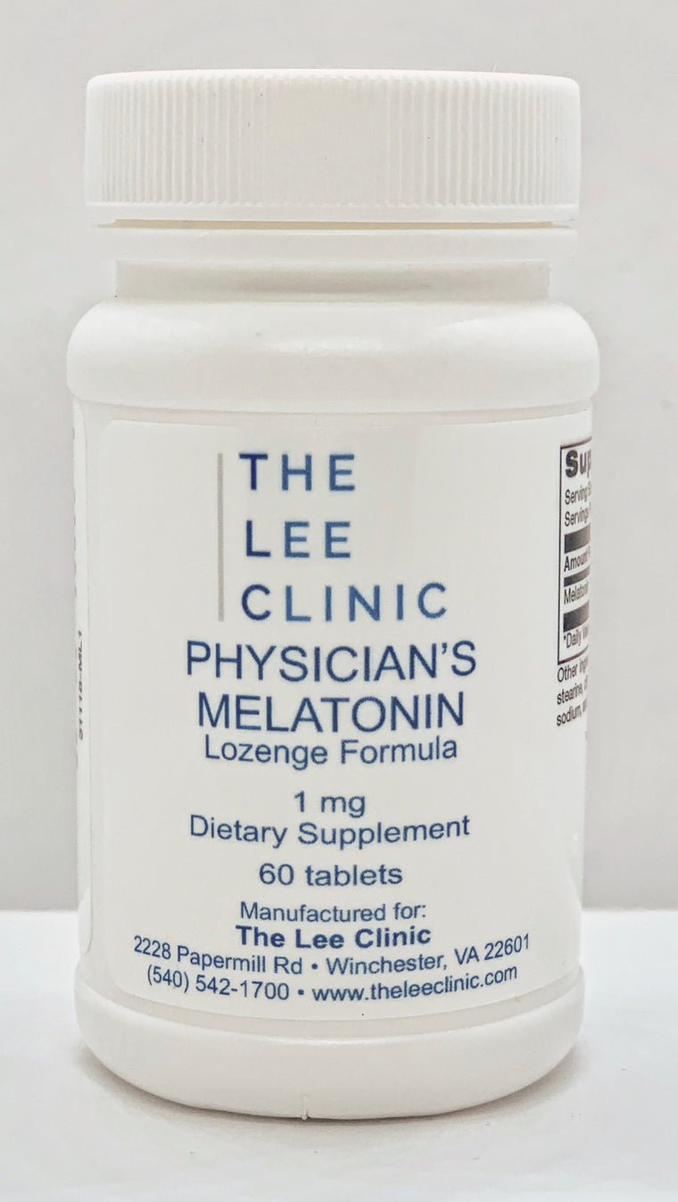 TLC Physician's Melatonin, Sublingual 1mg