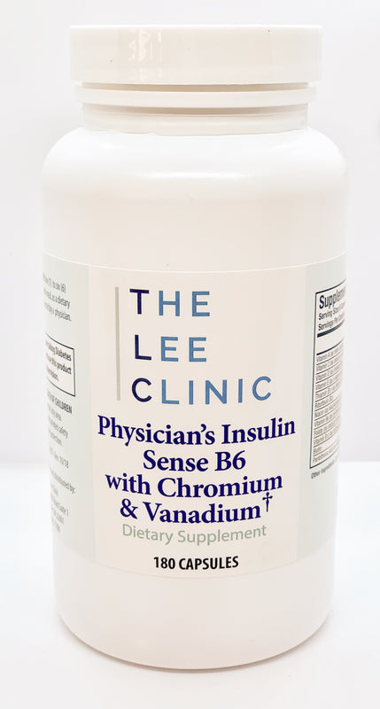 Physician's Multivitamin with B6 & Insulin Sense with Chromium and Vanadium