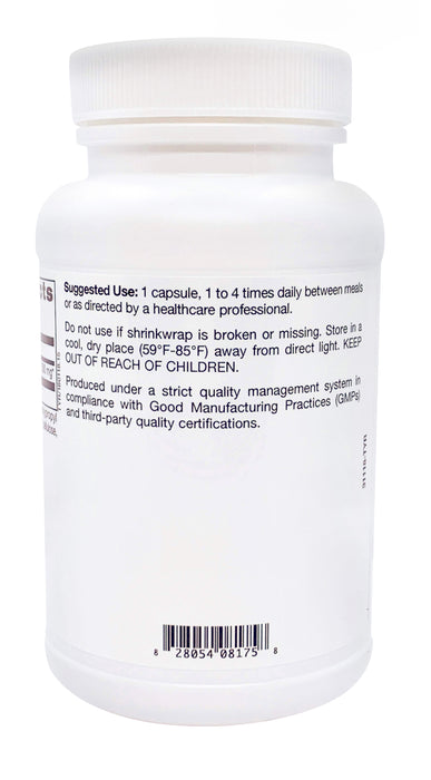 TLC Physician's  L Tyrosine 500mg