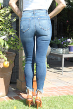 Load image into Gallery viewer, KanCan Lina High Rise Distressed Skinny Denim - The Fabulous Rag