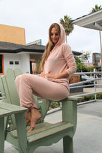 Load image into Gallery viewer, Comfortwear Soprana Hoodie Sweater - Pink - The Fabulous Rag