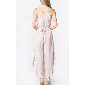 Saw It First Ruffle Jumpsuit - The Fabulous Rag