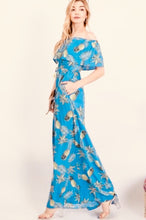 Load image into Gallery viewer, Daylight Pineapple Print Maxi Dress - The Fabulous Rag
