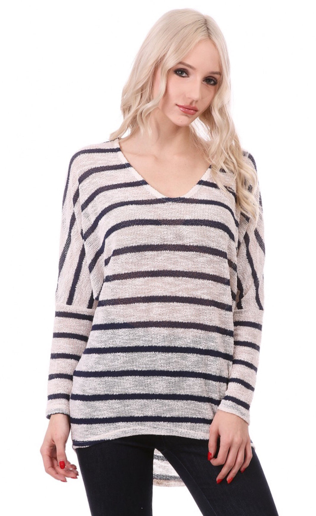 Sublime Striped Top - The Fabulous Rag