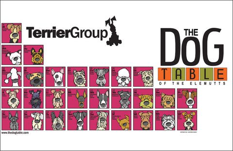 Terrier Group - The Dog Table