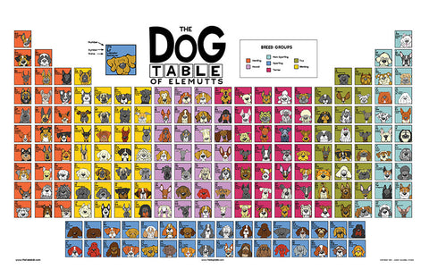The Dog Table Poster