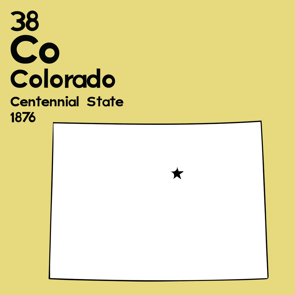 Colorado - Unframed 12x12 Print