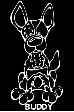 Australian Cattle Dog Decal