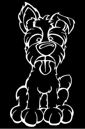 Tugger Decal Dog